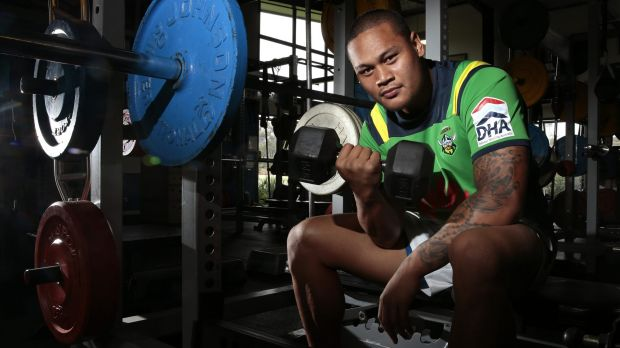 Joseph Leilua has shed some kilos in a committed approach to pre-season.