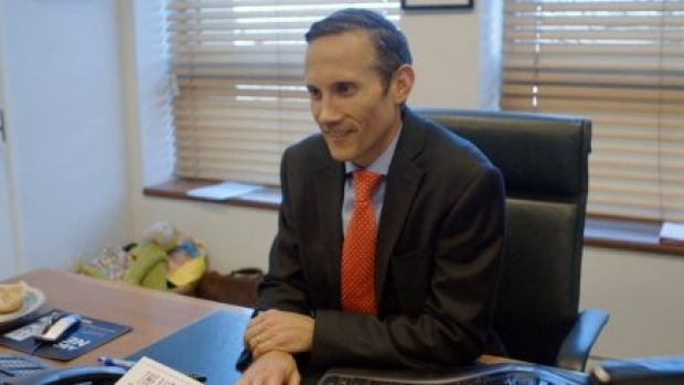 Andrew Leigh, pictured in his Parliament House office, is yet to decide where his new electorate office would be if he ...