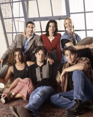 The cast of <i>Friends</i>.