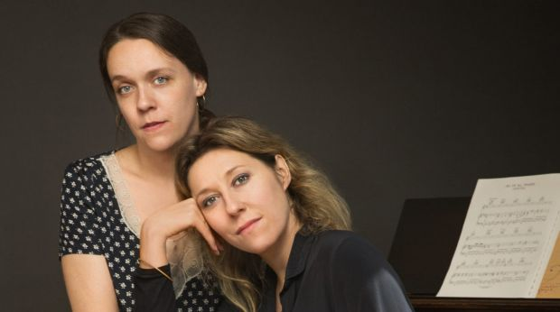 Martha and Lucy Wainwright are never far from music.