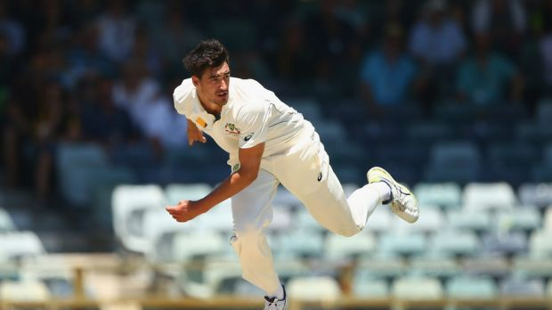 Time to step up: Mitchell Starc will use Mitchell Johnson's aggressive approach to inspire him.