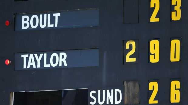 History as Ross Taylor records the highest score by an opposition batsman in a Test match in Australia.