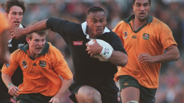 RIP Jonah Lomu: All Blacks winger Jonah Lomu has passed away, aged 40.
