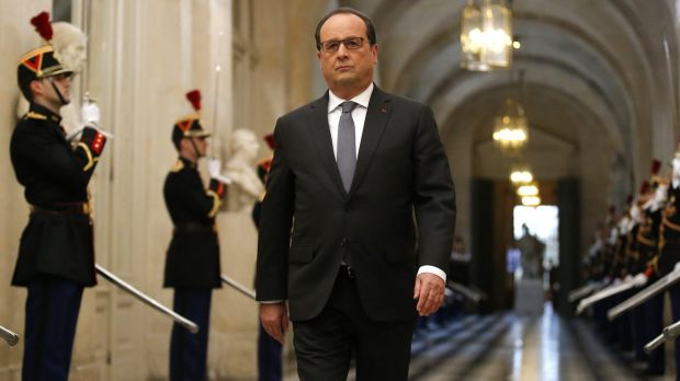 French President Francois Hollande has declared his country is at war.