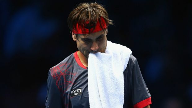 'I didn't play so good': David Ferrer.