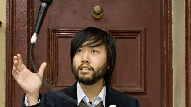 Melbourne comic Lawrence Leung whose  film, <i>Sucker</i>, is loosely based on his teenage years.