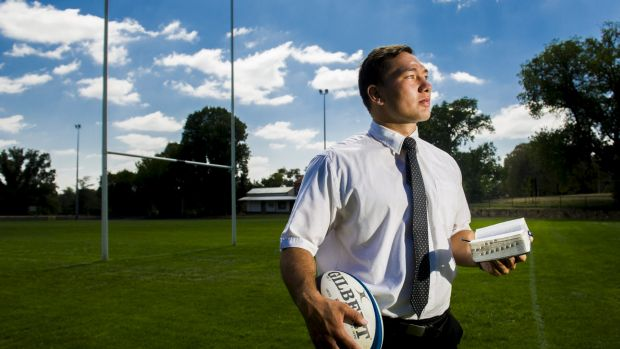 Brumbies recruit Robbie Abel spent two years in Western Australia on a Mormon mission.