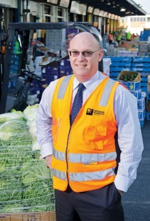Brisbane Markets and Brismark chief executive Andrew Young.