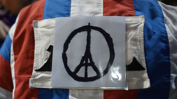 Many people have taken to social media to support the victims of the Paris attacks.