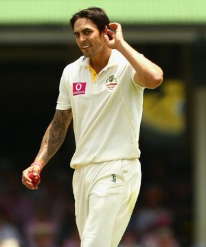 Mitchell Johnson is in the throes of a comeback.