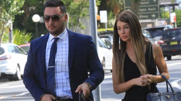 Salim and Aysha Mehajer in November 2015.