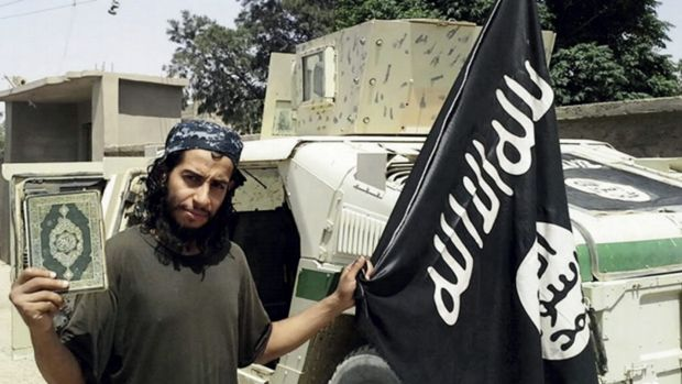 Paris attacks ringleader suspect Abdelhamid Abaaoud.