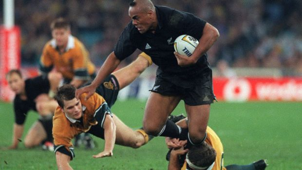Jonah Lomu, pictured during a Sydney Bledisloe Cup clash, took creatine according to his teammate Joeli Vidiri.