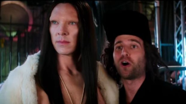 Benedict Cumberbatch's androgynous supermodel in Zoolander 2 has mobilised the outrage army.