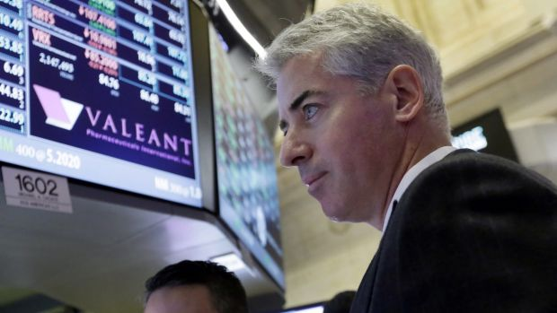 Bill Ackman, who is  Valeant Pharmaceuticals' second largest shareholder, has joined its board.