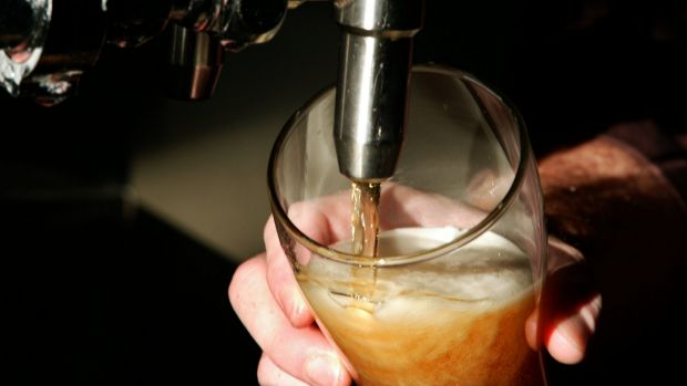 The top 20 per cent of drinkers have increased their proportion of alcohol consumed.