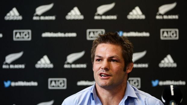 "Humbled: Richie McCaw called it ""an incredible honour"" to have his rugby career recognised in such a fashion."
