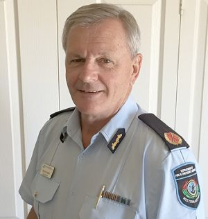 Department of Fire and Emergency Services Goldfields-Esperance superintendent Trevor Tasker.
