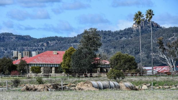 Tarwyn Park, the property renowned for its sustainable land use methods, in the pristine Bylong Valley.