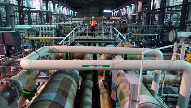 The cost to the state and water users of the desalination plant is huge.