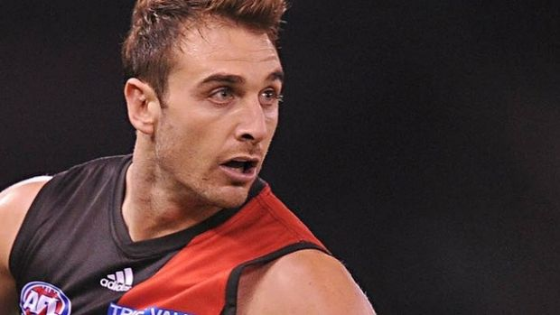 Back in action: Jobe Watson.