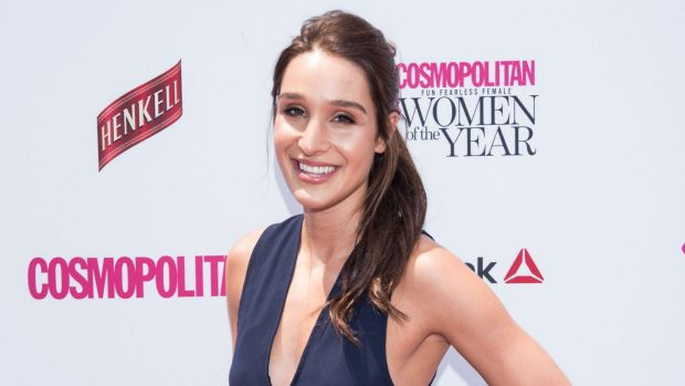 Kayla Itsines, the social media star with over 3.9 million Instagram followers, at the Cosmopolitan Women of the Year ...