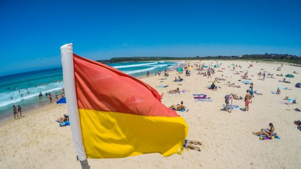 Surf Life Saving NSW has warned beachgoers to take care and avoid the sun during the hottest parts of the day.