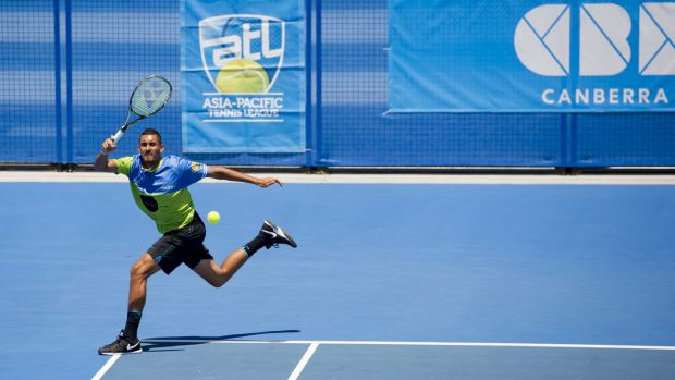 Tennis ACT officials are keen to explore options for a showcourt in Civic that could host the world's best players, ...