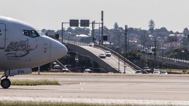 Separate motorway links are planned from Sydney Airport's domestic and international terminals to the WestConnex tollroad.