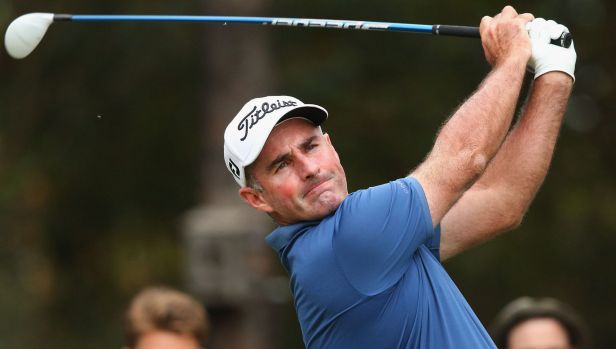 Matthew Millar is in the chasing pack behind Adam Scott at the Australian Masters.