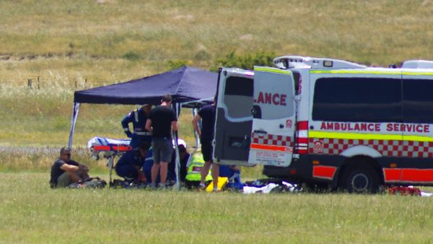 The 14-year-old was taken to Westmead Children's Hospital in a critical condition.