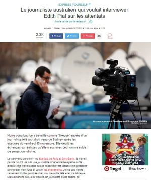 The article on L'Express.