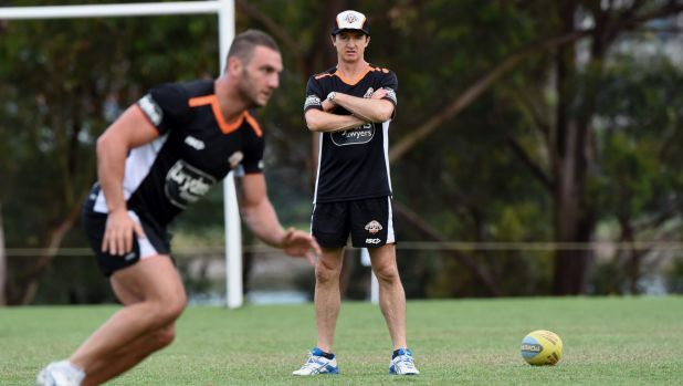 Alliance: Robbie Farah and coach Jason Taylor are not friends but will work together.