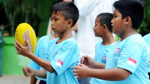 Equipment and facilities are the major challenge for keeping the game going in Indonesian schools.