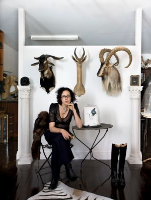 Julia deVille was drawn into taxidermy by a fascination with death and a love of animals.