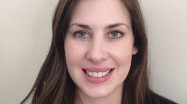 Speech pathologist Erin Wilkins is the owner of Small Talk Speech and Language Therapy.