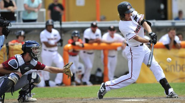 Canberra Cavalry catcher Robbie Perkins has been called into the Australian squad for the WBC qualifiers in Sydney next week.