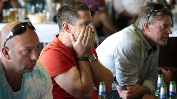 Matt Millar's supporters gathered at the Gold Creek Country Club to watch the last round of the Australian Open. From ...