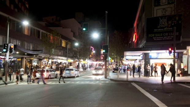 The Kings Cross precinct has been most affected by the lockout and last drinks laws.