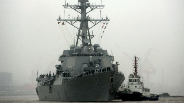 The US Navy is courting partners for South China Sea missions.