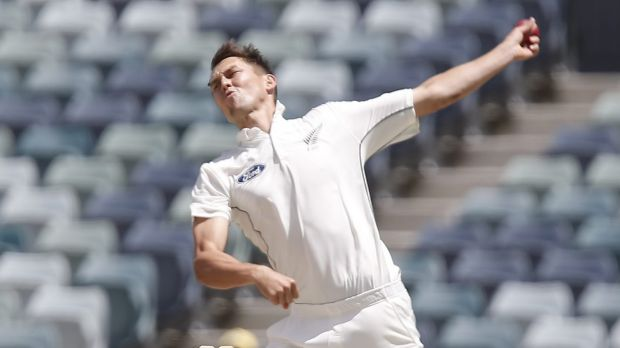Trent Boult's only bowling during the match against Western Australia was off a few steps before play on day two.