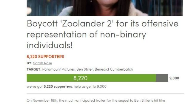 The growing petition slamming the <i>Zoolander</i> sequel.
