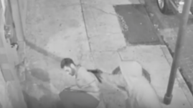A mugger tries to shoot medical student Peter Gold in the head.