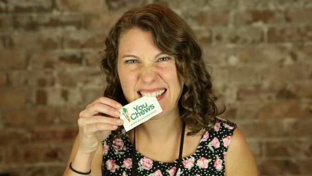 Liz Kaelin of food-tech startup You Chews.