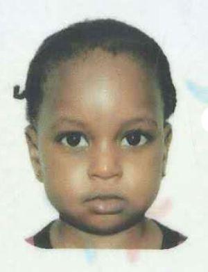 Australian child Fatoumata Binta.