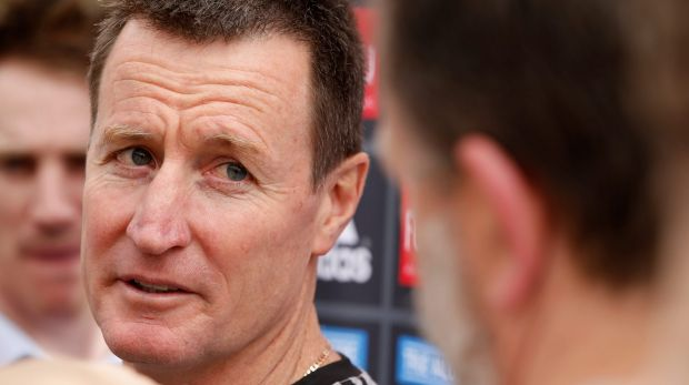 Essendon senior coach John Worsfold.