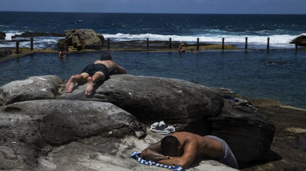 Sydney in late spring: a final burst of heat before summer officially kicks off.