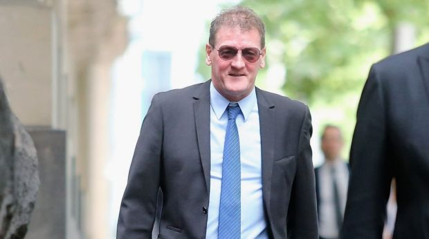Ricky Nixon arrives at the Court of Appeal on Lonsdale Street on Tuesday.