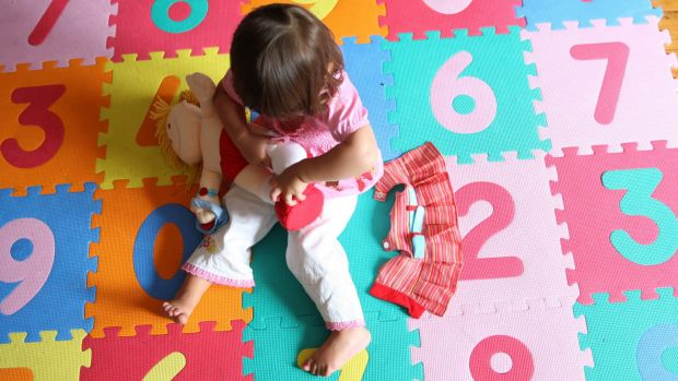 Counting the cost: Childcare workers say their contribution to society is under-valued.
