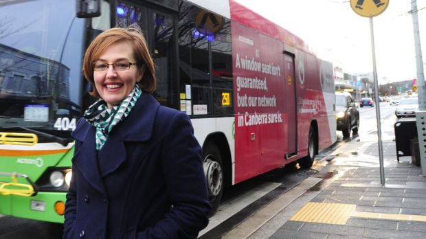 Labor's Transport Minister and Gungahlin representative Meegan Fitzharris did well.
